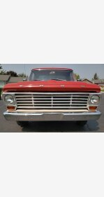 1967 Ford F100 2WD Regular Cab for sale 101055242