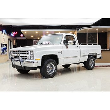 1987 Chevrolet C/K Truck 4x4 Regular Cab 1500 for sale 101069641