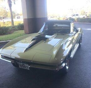 1967 Chevrolet Corvette 427 Convertible for sale 101072561