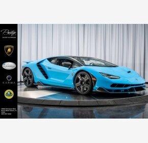 2017 Lamborghini Centenario for sale 101077731
