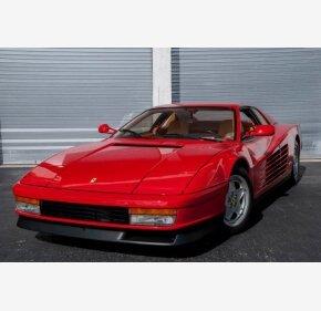 1991 Ferrari Testarossa for sale 101078233