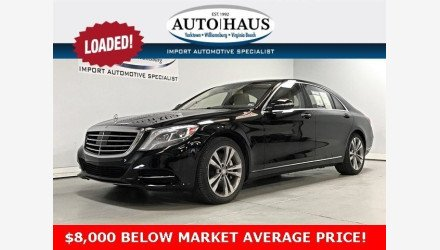 2015 Mercedes-Benz S550 Sedan for sale 101078501