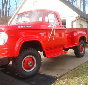 1966 Dodge D/W Truck 4x4 Regular Cab W-350 for sale 101080249