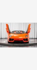 2014 Lamborghini Aventador LP 700-4 Roadster for sale 101080295