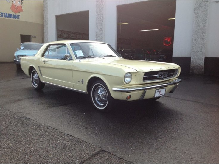 1965 Ford Mustang For Sale Near Portland Oregon 97202 Classics On