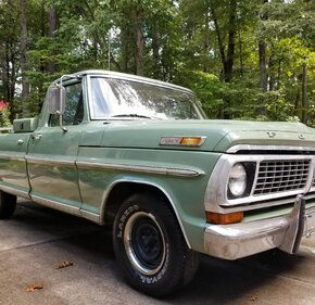 1970 Ford F100 2WD Regular Cab for sale 101080839