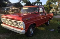 1968 Ford F100 2WD Regular Cab for sale 101085509