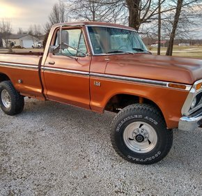 1975 Ford F250 4x4 Regular Cab for sale 101088792