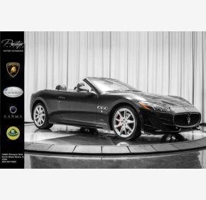 2014 Maserati GranTurismo Convertible for sale 101088825