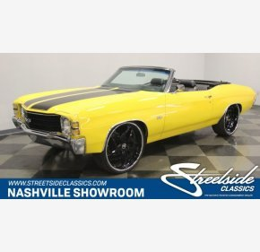 1971 Chevrolet Chevelle for sale 101091638