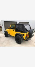 2004 Jeep Wrangler 4WD X for sale 101094371