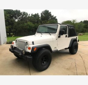 2005 Jeep Wrangler 4WD Unlimited for sale 101094387