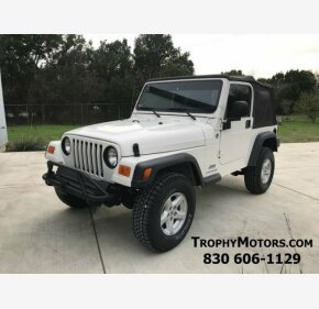 2005 Jeep Wrangler 4WD X for sale 101094388