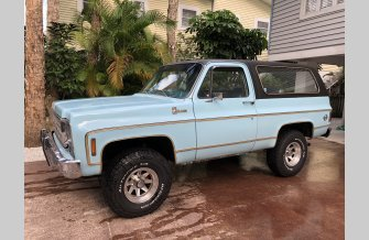 1977 Chevrolet Blazer 4WD 2-Door for sale 101094465