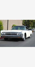 1963 Lincoln Continental for sale 101095734