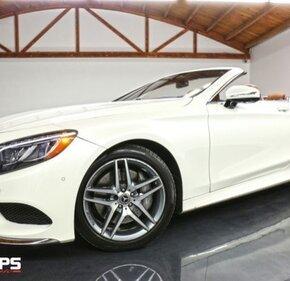 2017 Mercedes-Benz S550 Cabriolet for sale 101098805