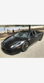 2013 Ferrari 458 Italia Spider for sale 101105760