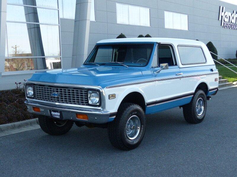 1972 Chevrolet Blazer Classics For Sale Classics On Autotrader