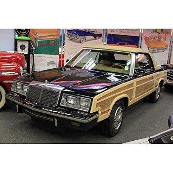 1985 Chrysler LeBaron Convertible for sale 101107275