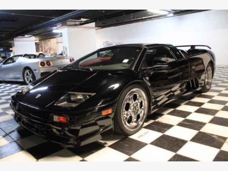 1999 Lamborghini Diablo Vt Roadster For Sale Near Orlando Florida