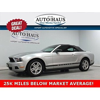 2010 Ford Mustang Convertible for sale 101108524