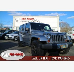 2013 Jeep Wrangler 4WD Unlimited Sahara for sale 101110344