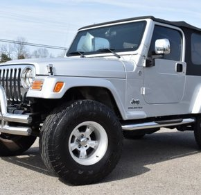 2006 Jeep Wrangler 4WD Unlimited for sale 101111693