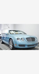 2008 Bentley Continental GTC Convertible for sale 101112400