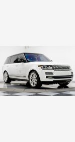 2016 Land Rover Range Rover Long Wheelbase Supercharged for sale 101112505