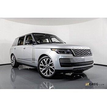 2019 Land Rover Range Rover Long Wheelbase Autobiography for sale 101113030