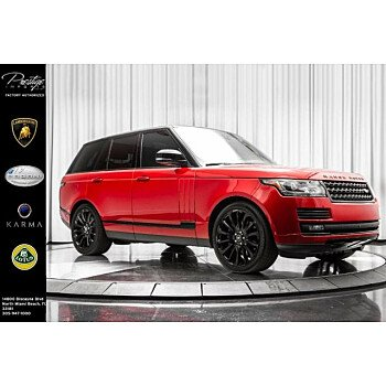 2017 Land Rover Range Rover for sale 101114443