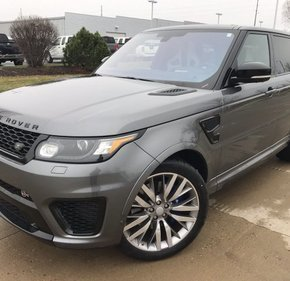 2016 Land Rover Range Rover Sport SVR for sale 101114564