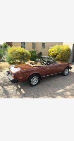 1982 FIAT 2000 Spider for sale 101116601