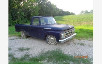 1962 Ford F100 2WD Regular Cab for sale 101117124