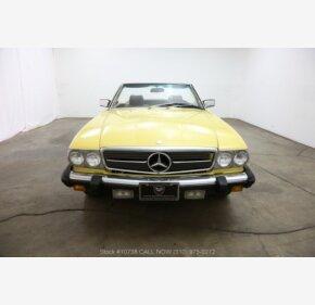1981 Mercedes-Benz 380SL for sale 101119860