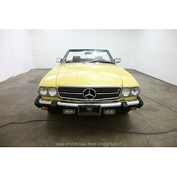 1981 Mercedes-Benz 380SL for sale 101119860