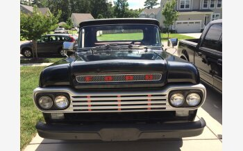 1959 Ford F100 2WD Regular Cab for sale 101121111