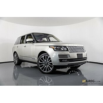 2014 Land Rover Range Rover Autobiography for sale 101121847