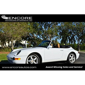 1998 Porsche 911 Cabriolet for sale 101121985