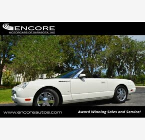 2003 Ford Thunderbird for sale 101121996