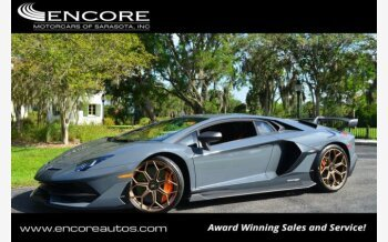 2019 Lamborghini Aventador SVJ Coupe for sale 101122001