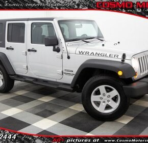 2012 Jeep Wrangler 4WD Unlimited Sport for sale 101123911