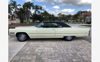 1966 Cadillac De Ville Coupe for sale 101125098