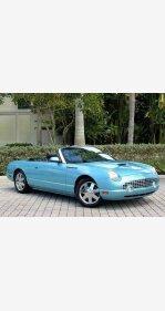 2002 Ford Thunderbird for sale 101127356