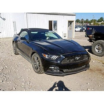 2017 Ford Mustang Convertible for sale 101129651