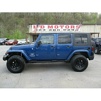 2009 Jeep Wrangler 4WD Unlimited Sahara for sale 101132024