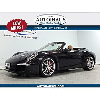2012 Porsche 911 Carrera S Cabriolet for sale 101134216