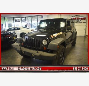 2010 Jeep Wrangler 4WD Unlimited Sport for sale 101136222