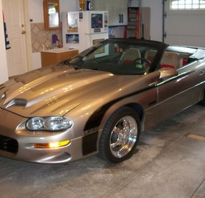 2002 Chevrolet Camaro Z28 Convertible for sale 101136541