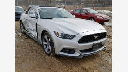 2015 Ford Mustang Convertible for sale 101137045